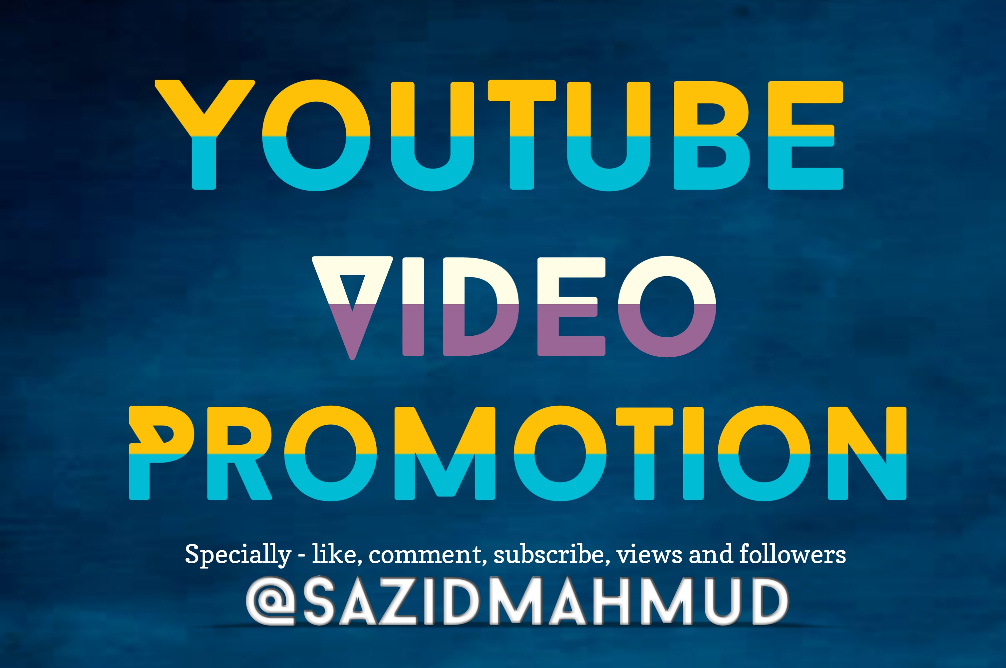 YouTube video promotion and Social Media expert