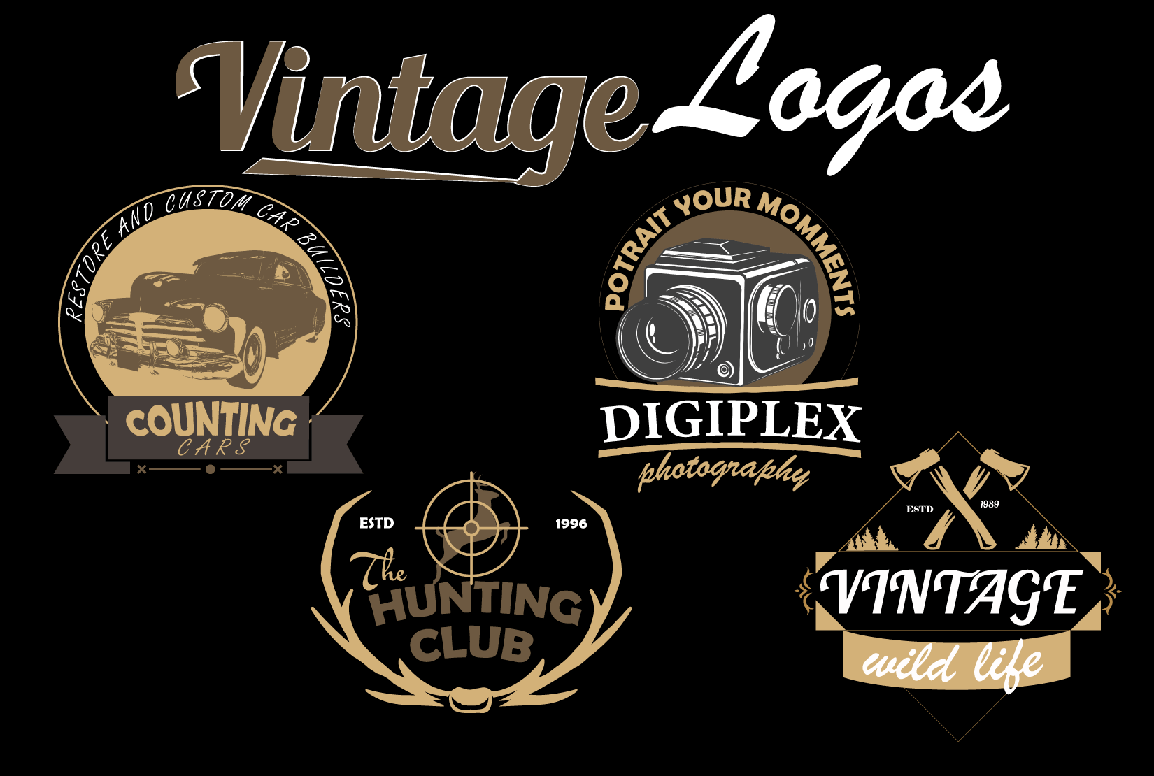 I Will Design All type of Logos for you