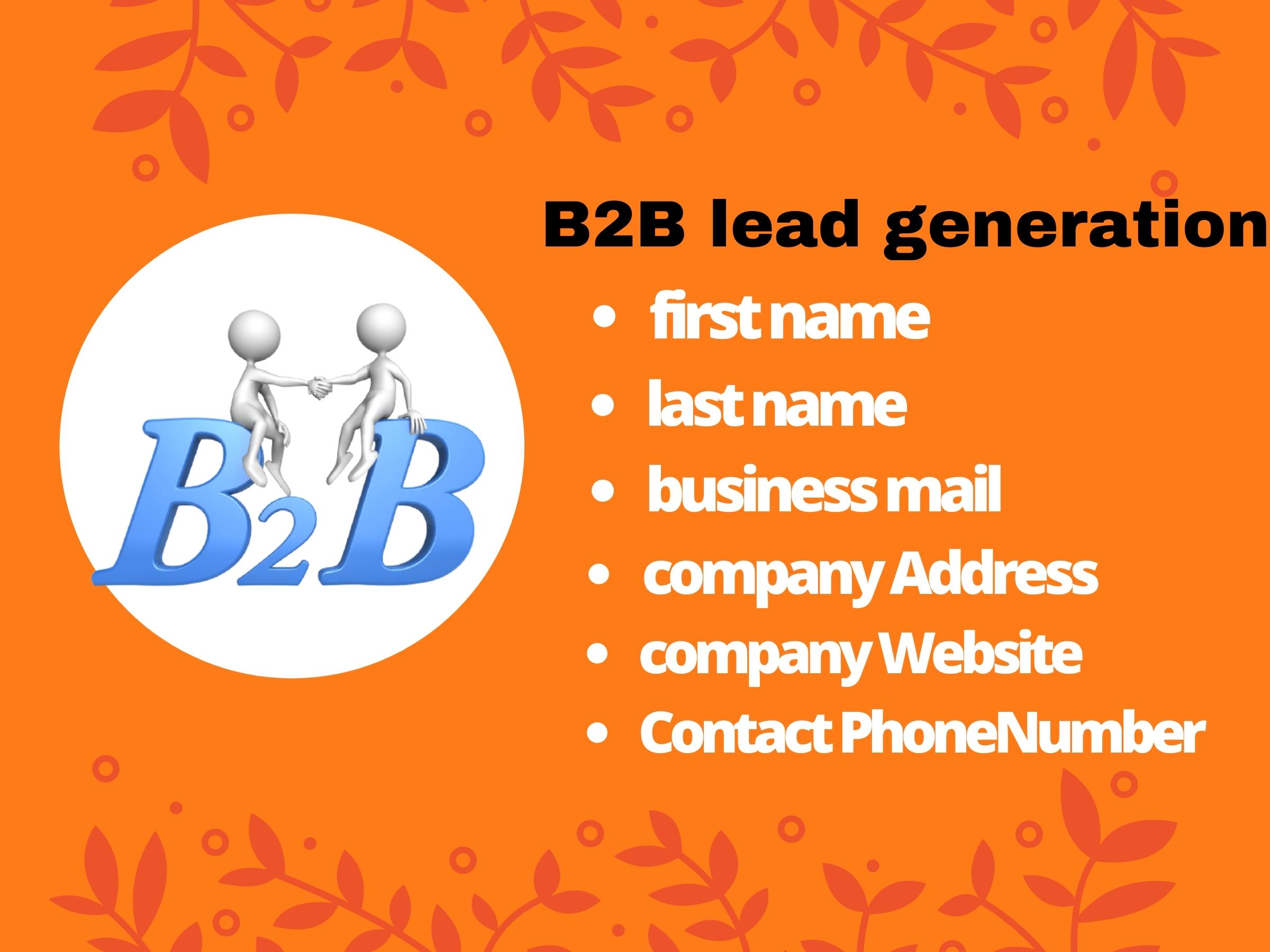 I will do 55 targeted Linkedin B2B lead generation