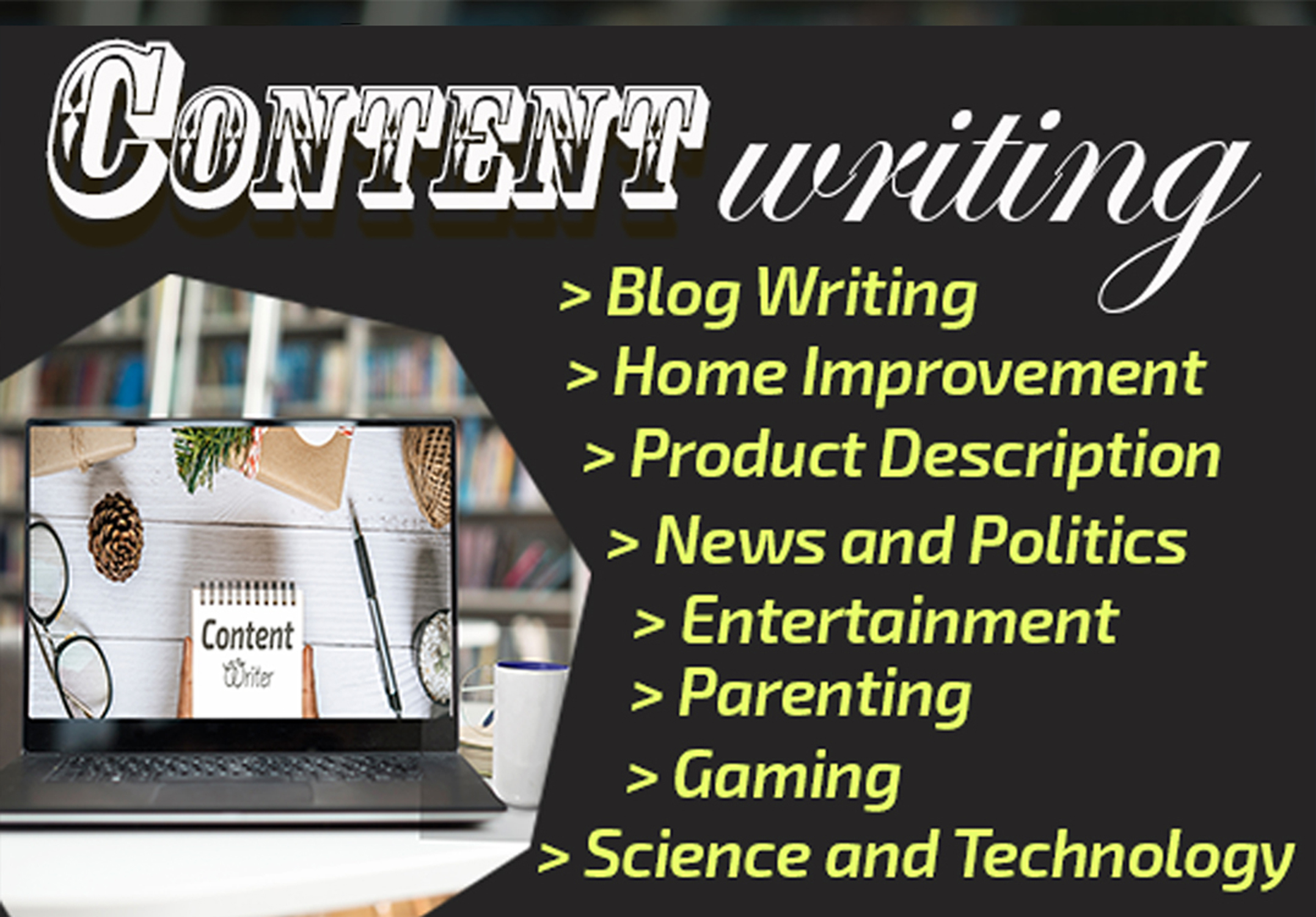 I Will write SEO articles for your blog or website