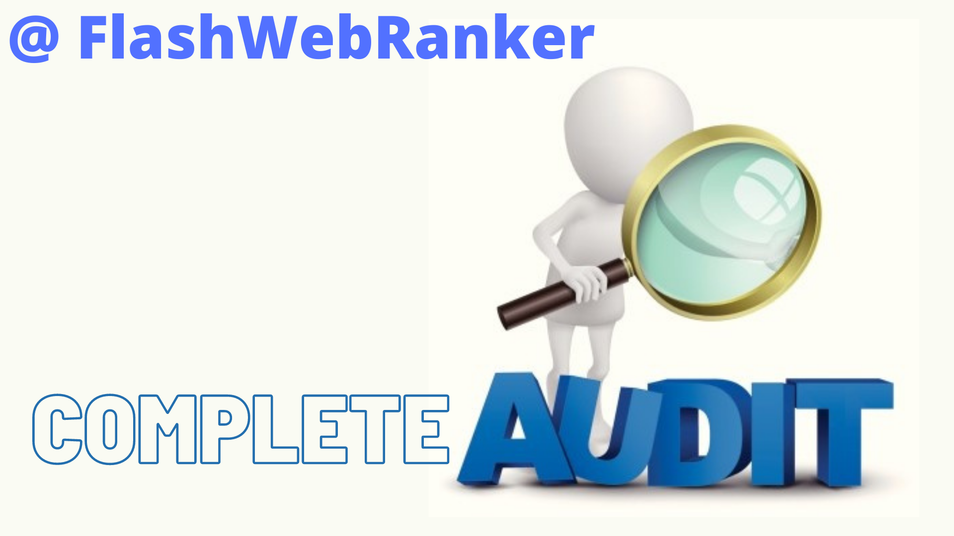 I will provide you Complete Audit that will help you to rank your site