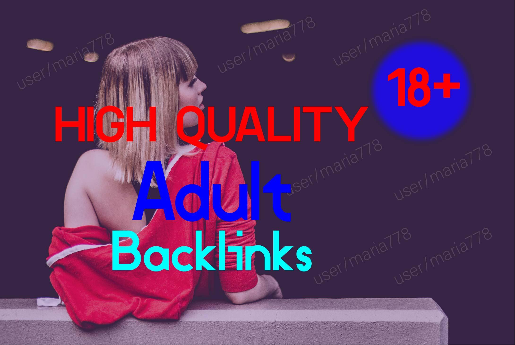 150 +Pr9 Adult + 60 Edu/Gov PR9 High Quality Profile Backlinks To Boost Your Website Ranking