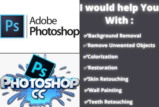 Fantastic Photoshop Services with unlimited Revisions