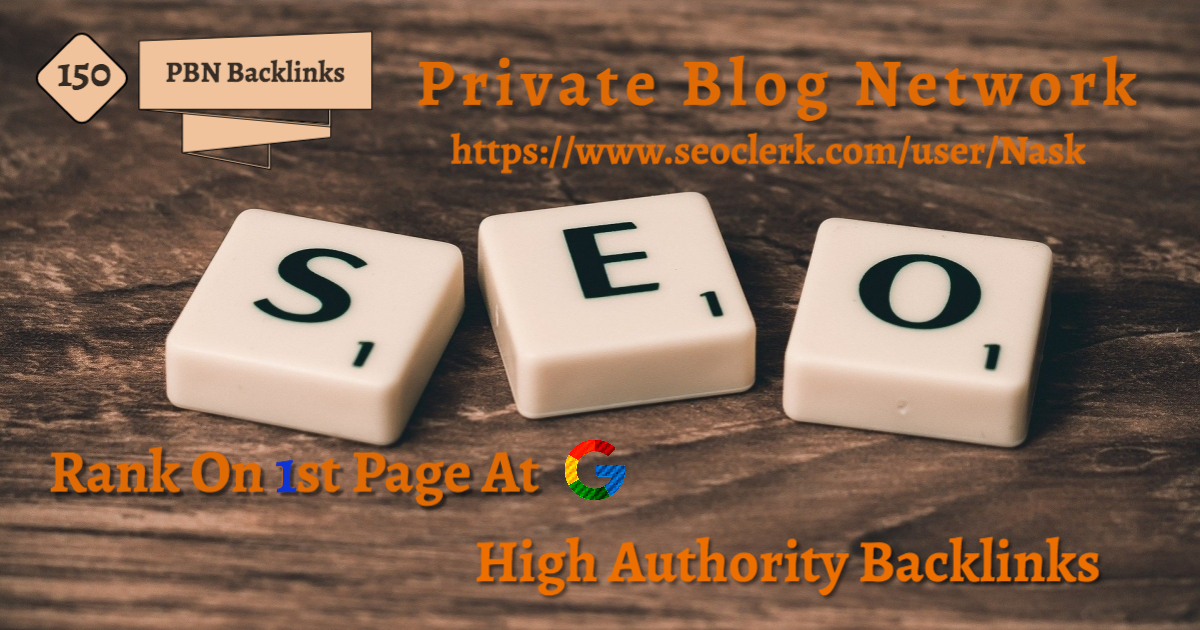 I will make a 150 high Quality DA 55+ PBN Backlinks on most visited sites.