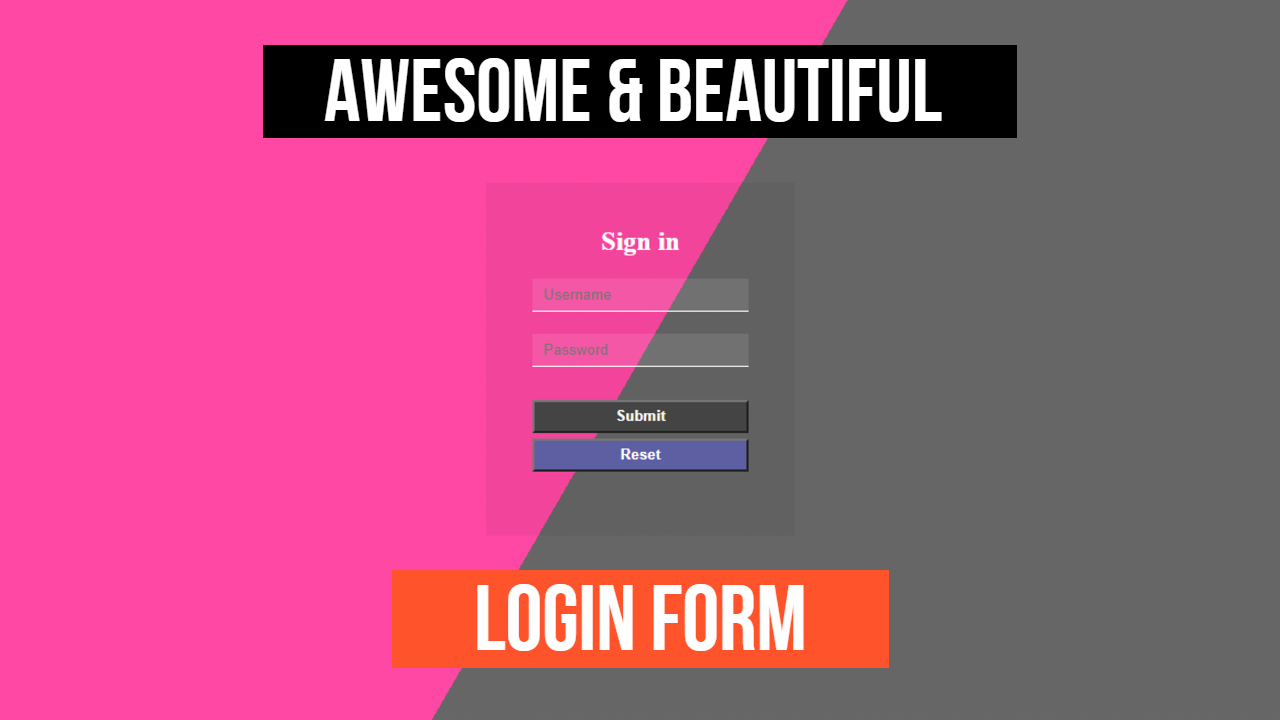 transparent And Mixed Colorful Form Template