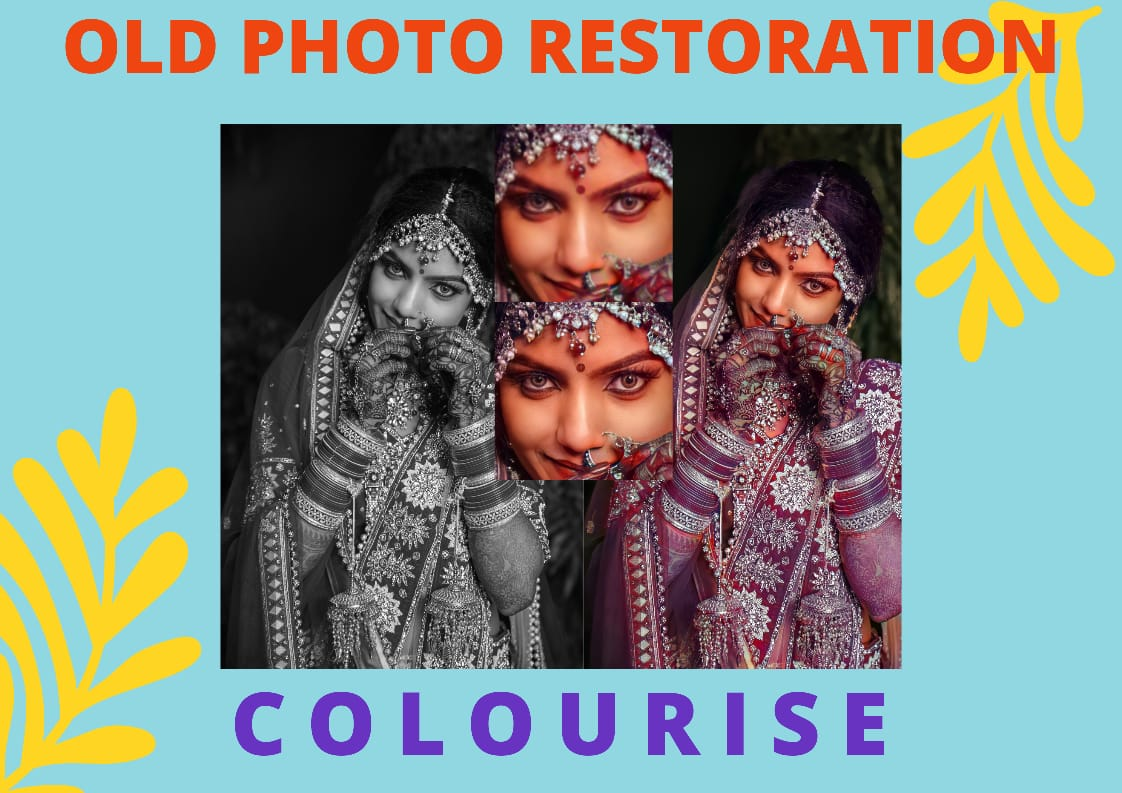 I will do old photo restoration and Colourise