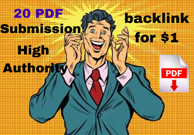 Top 20 PDF Service Manually for Backlinks to Rank in Google