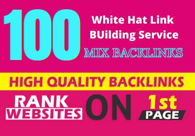 Rank On Google With 100 High Authority SEO Backlinks