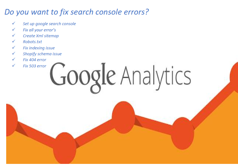 I will do google index and search console service for SEO to make you happy