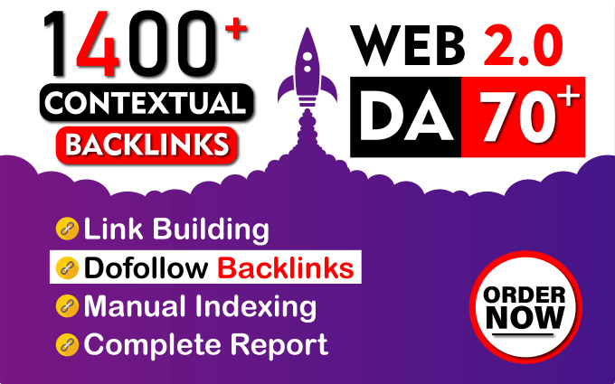 I will build high authority super web 2.0 backlinks