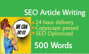 i will write 500+ words SEO optimized and unique article for your