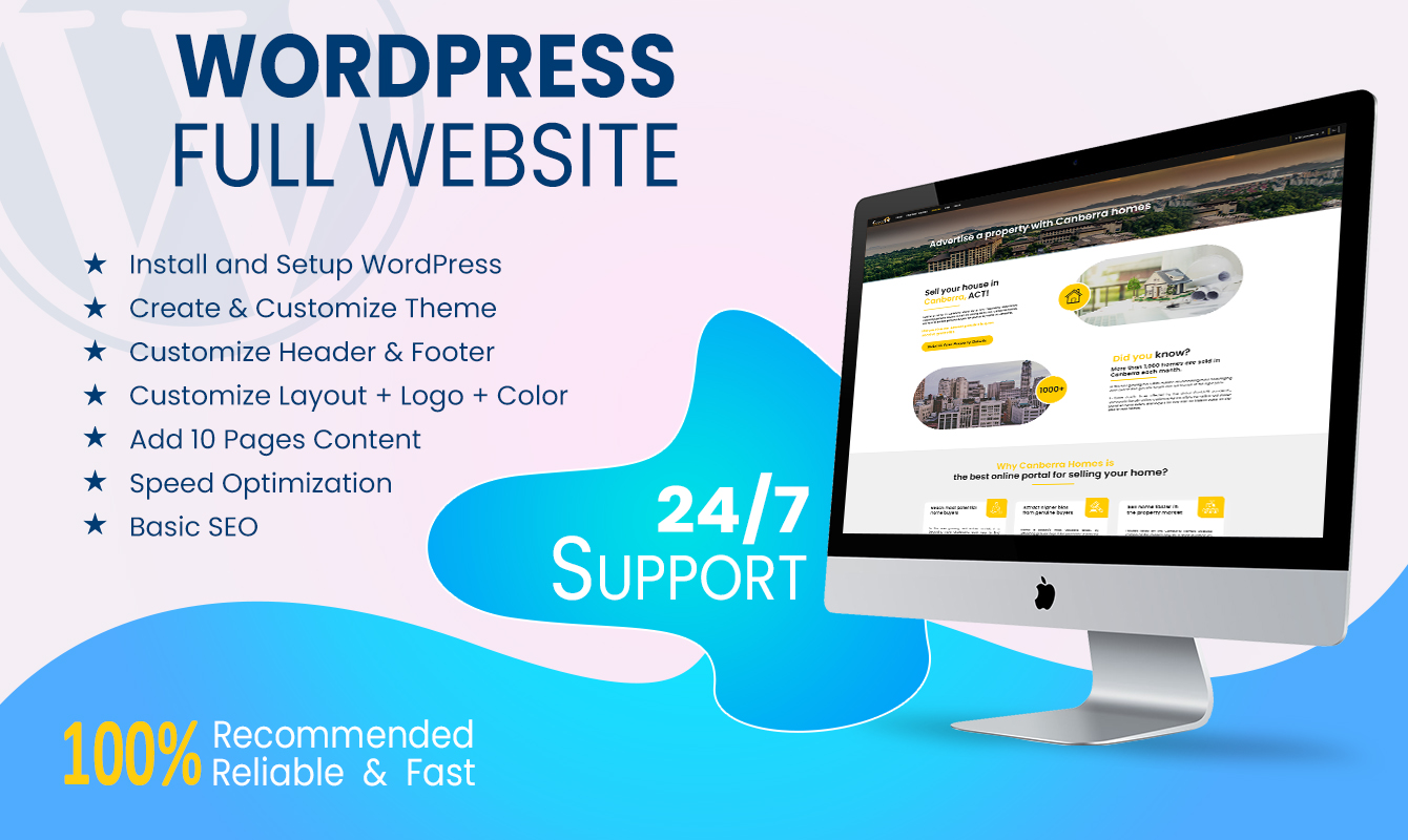 I will design,  redesign,  or fix your wordpress website