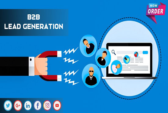 I will be your virtual assistant targeted b2b lead generation