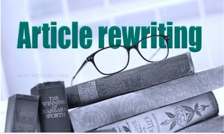 I will rewrite your article of 500 words or more