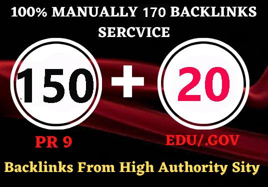 I Can Do Google Rankings With 150 Pr9 + 20 Edu/Gov Pr9 High Authority Profile Backlinks