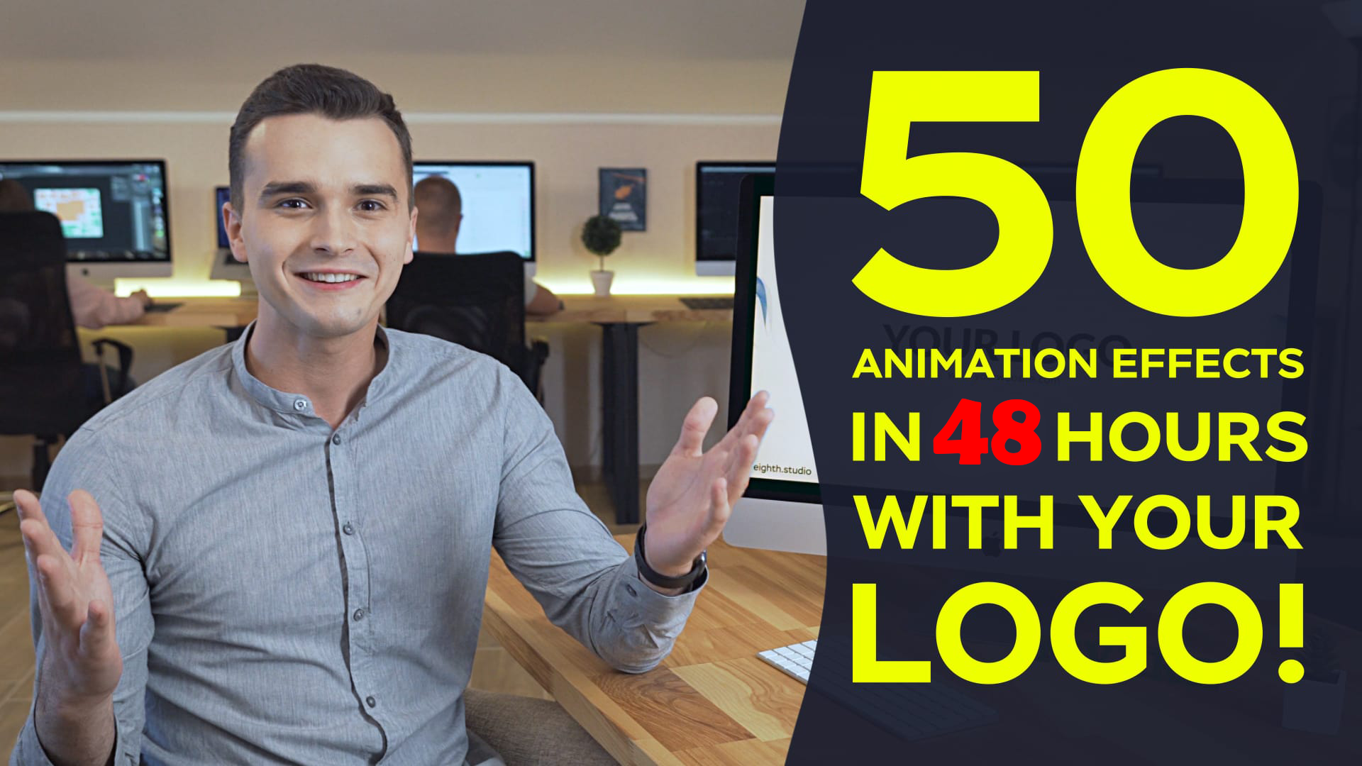 Get 50 Animation Videos With Your Logo FULL HD
