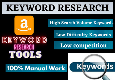 I will provide 25 keyword research SEO with Low competitor Analysis,  rank in google your website