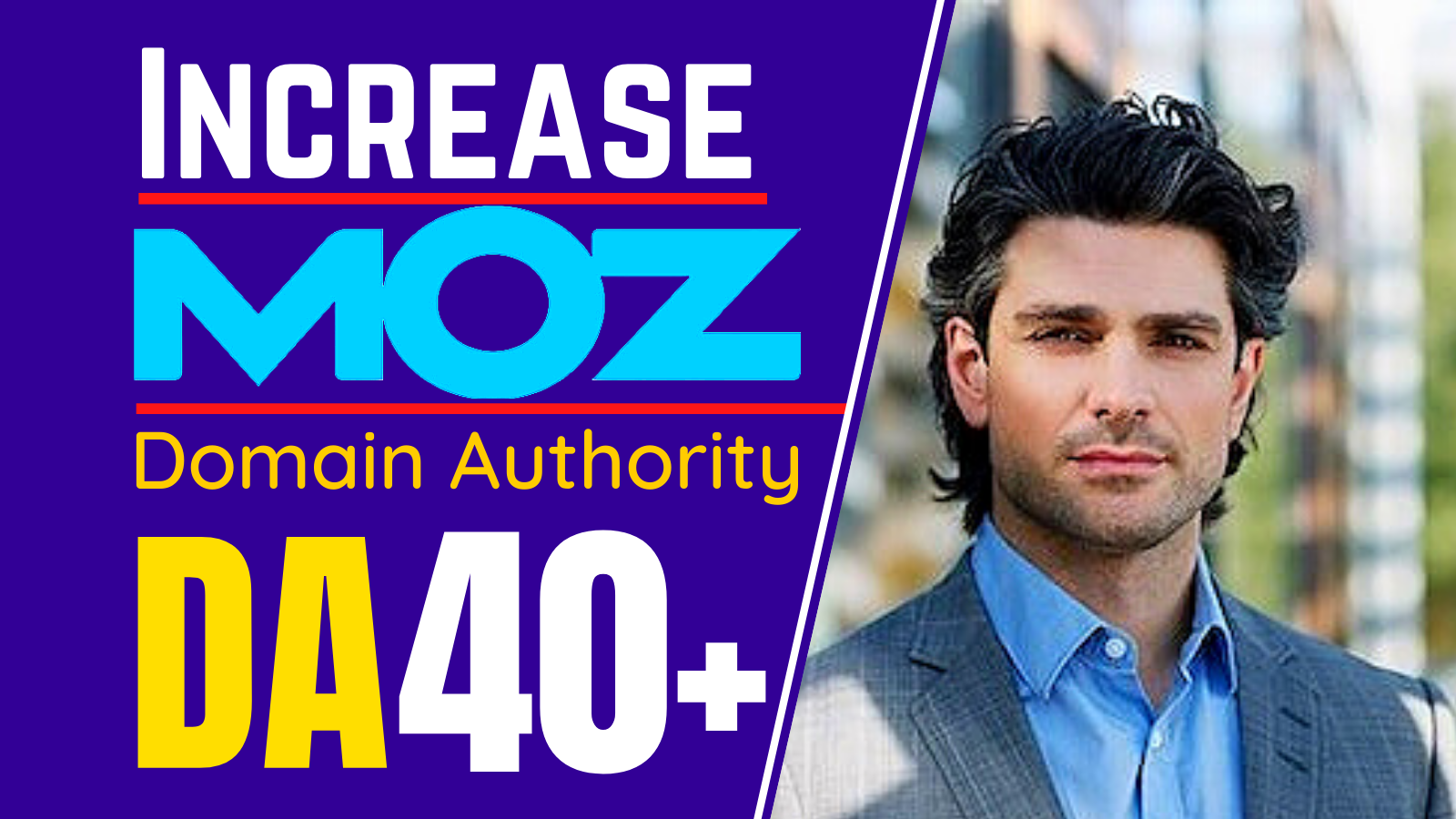 Off-Page SEO I will increase moz domain authority moz da up to 50 plus