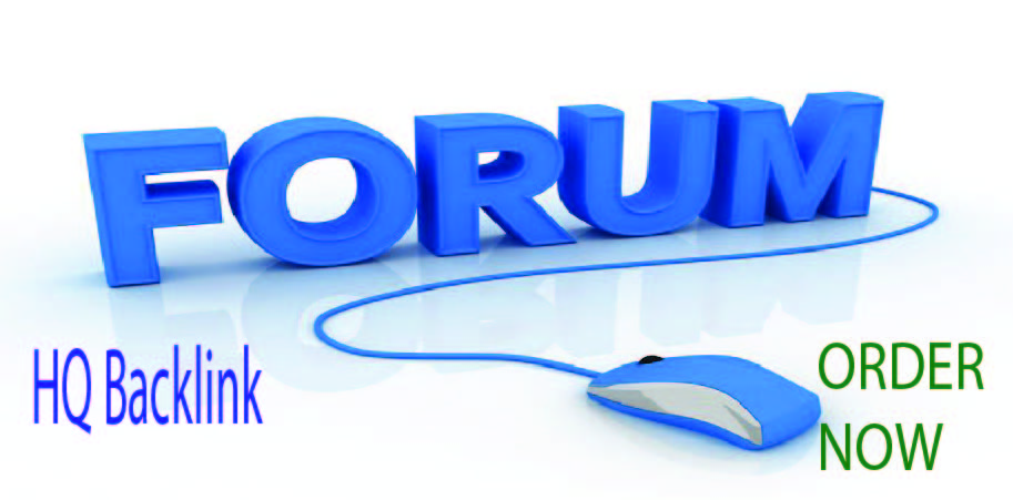 Write and published FORUM Posting with HQ Backlink