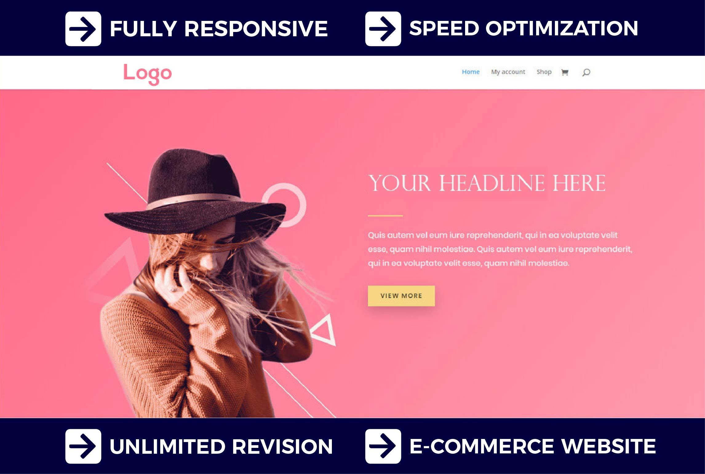I will create a multi vendor Wordpress ecommerce website or online store