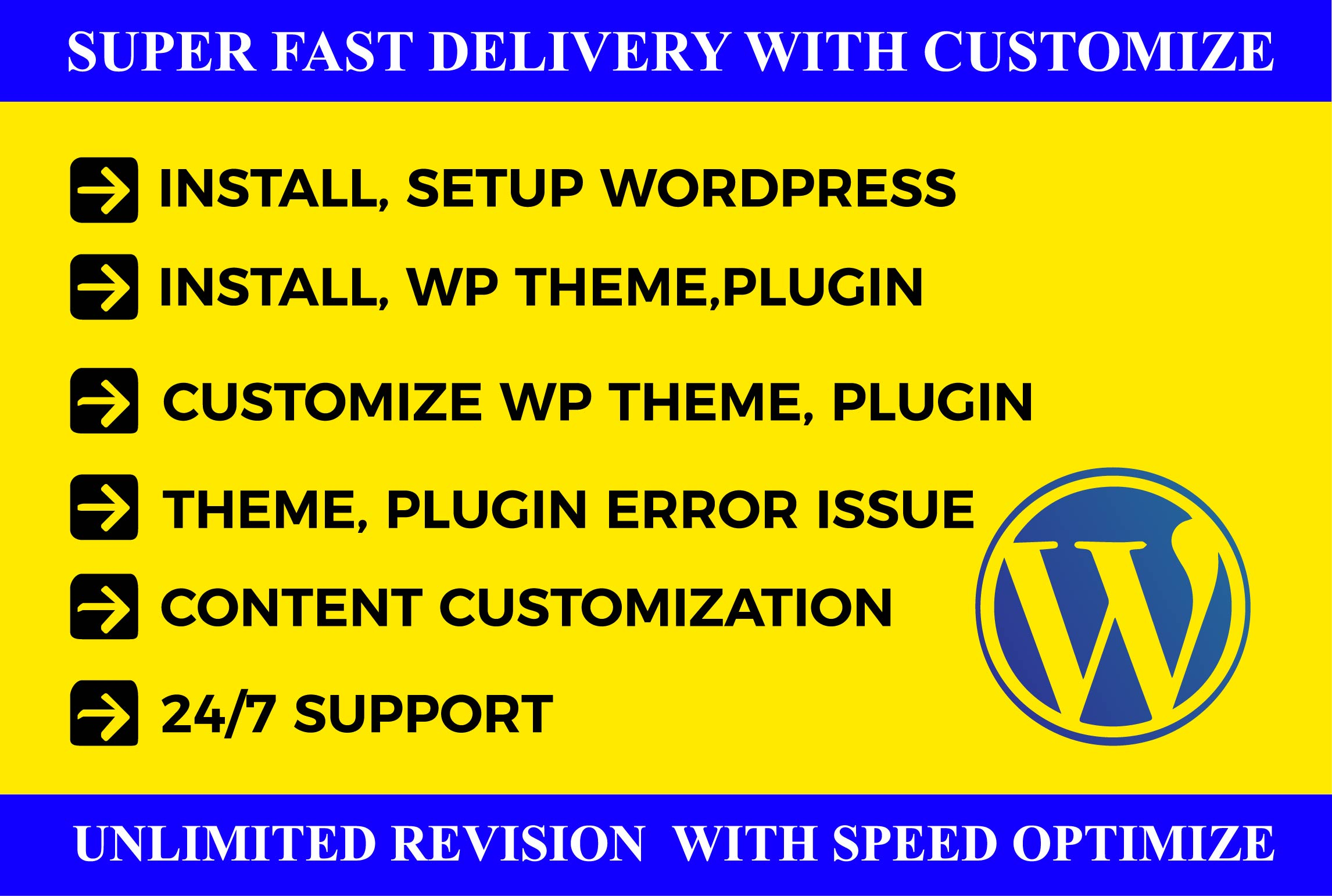 I will create Wordpress website redesign or Wordpress customization