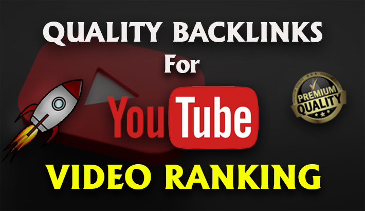 I will Build 2000+ backlinks for YouTube video ranking