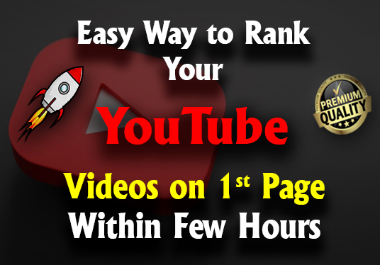 I will SEO your YouTube video and rank on 1st page