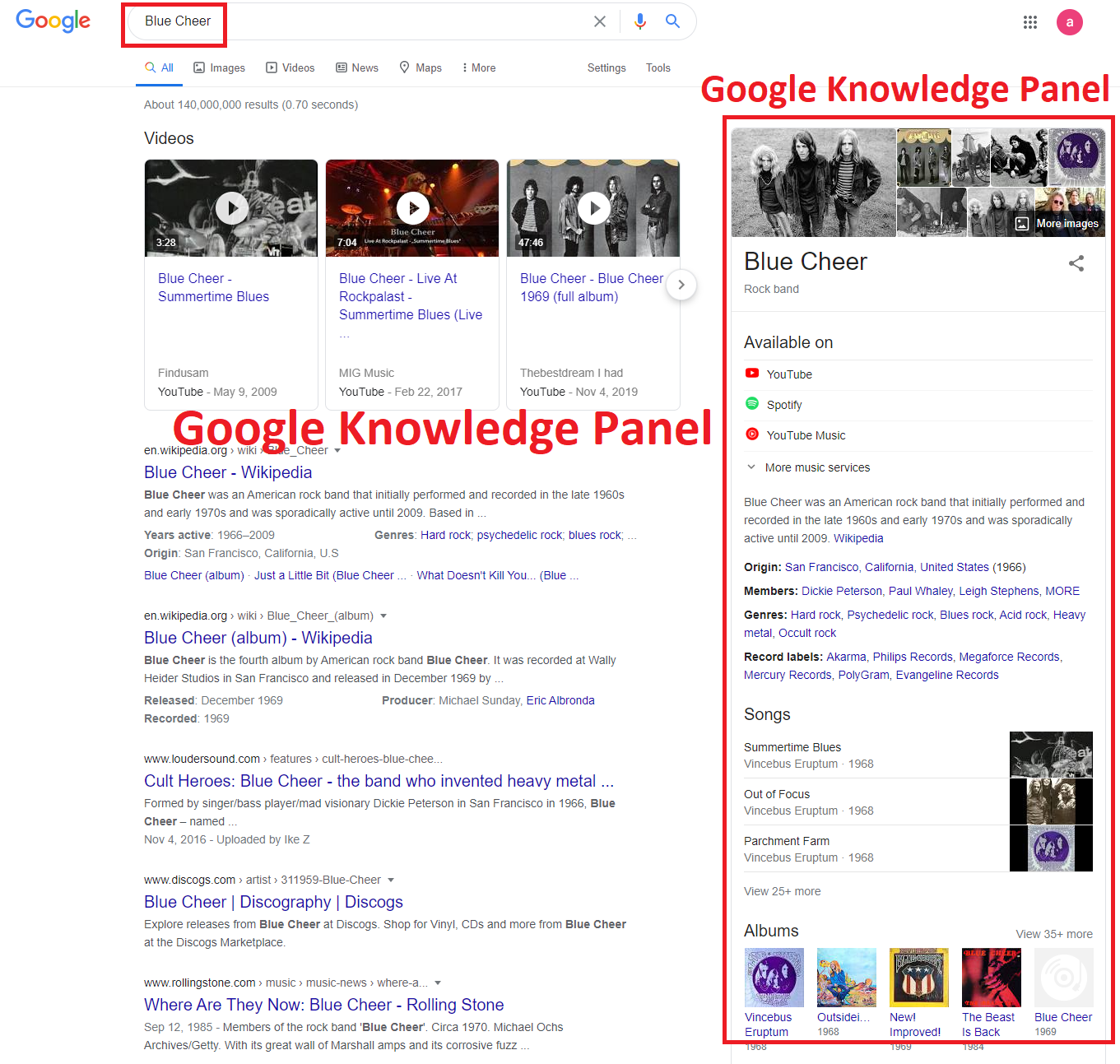 I will create an approve google knowledge panel for you personal and your company