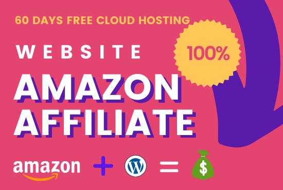 I Will Create or Build An Amazon Affiliate Blog In WordPress