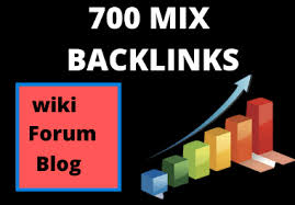 I Will Build 700 MIX Backlinks