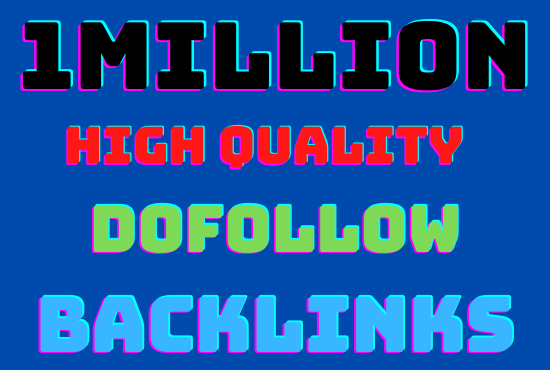 I will run 1M GSA highly verified high quality dofollow backlinks your website Rangking on google