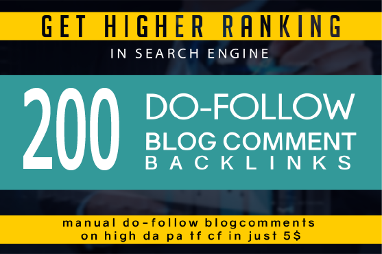 I will provide 200 high quality dofollow blog comments