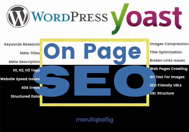 I'll make SEO page with yoast plugin to your wordpress website.