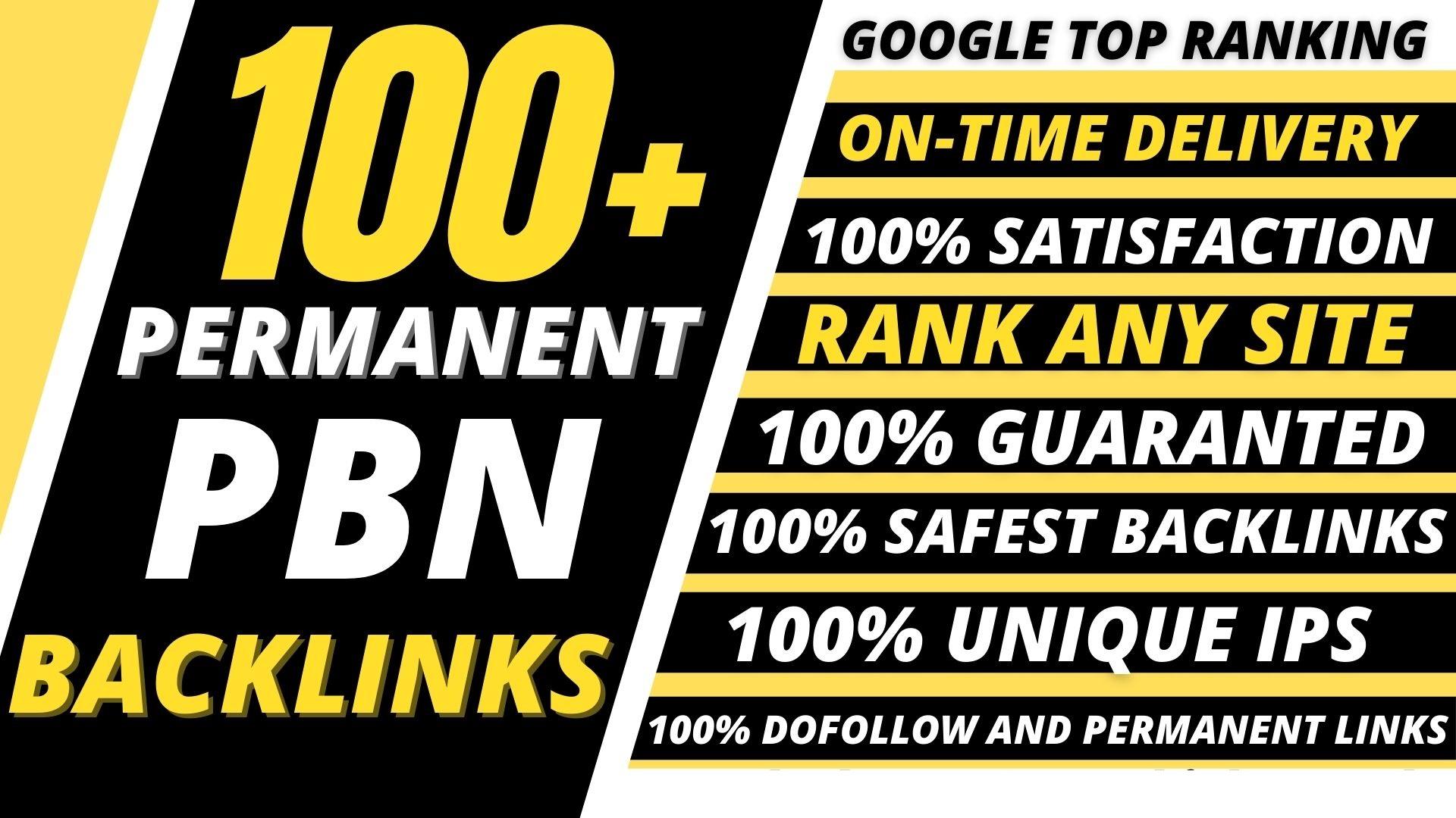 Get 100 Web 2.0 PBN Dofollow Backlinks improve your website ranking