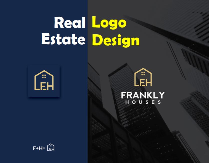 I will Create real estate,  realtor minimalist logo design
