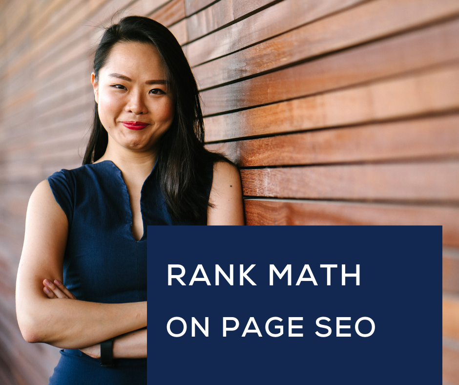 I will do wordpress on page SEO with rank math