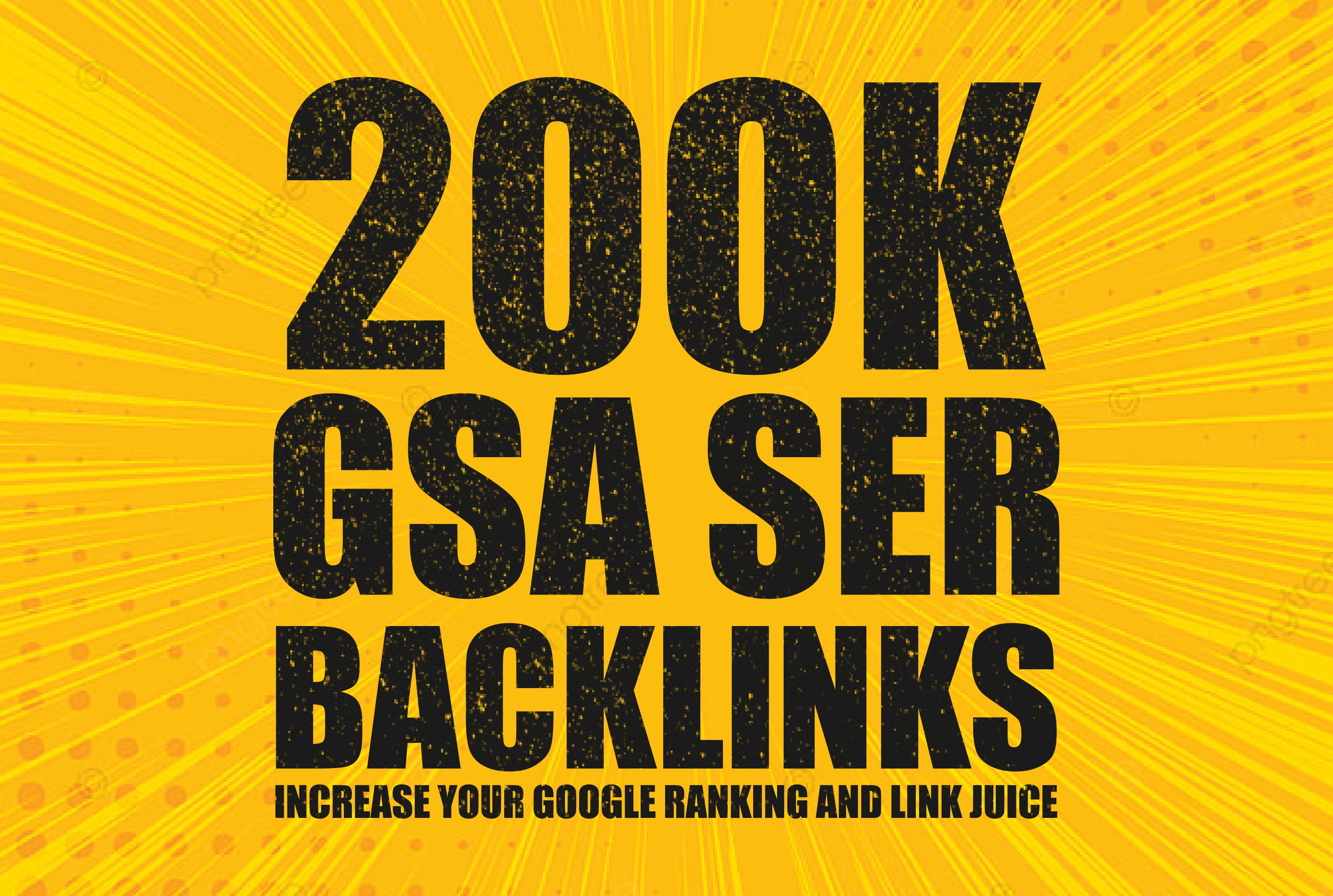 I will provide 200k Backlinks for your google ranking