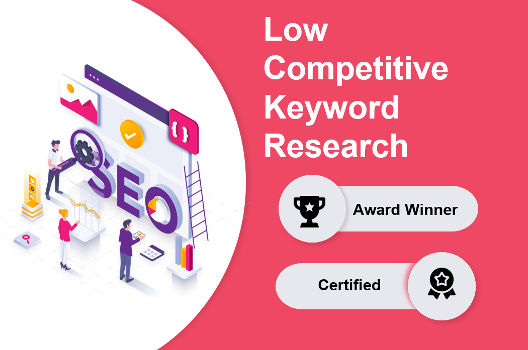 I will research 20 profitable low competitive keywords