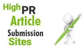 I will submit blog posts to High PR 150 articles directories