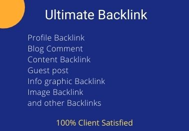 Ultimate backlink that will growing your website rasnked faster