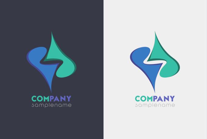 I will design flat and minimalist logo