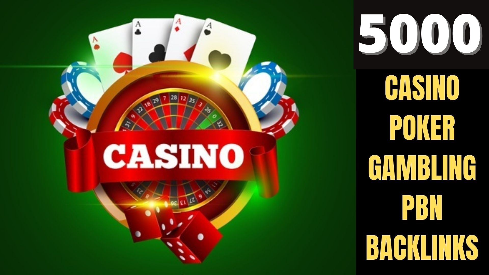 I will Do 5000 Web 2.0 Casino/Gambling/Poker/Judi Dofollow Backlink DA 40+