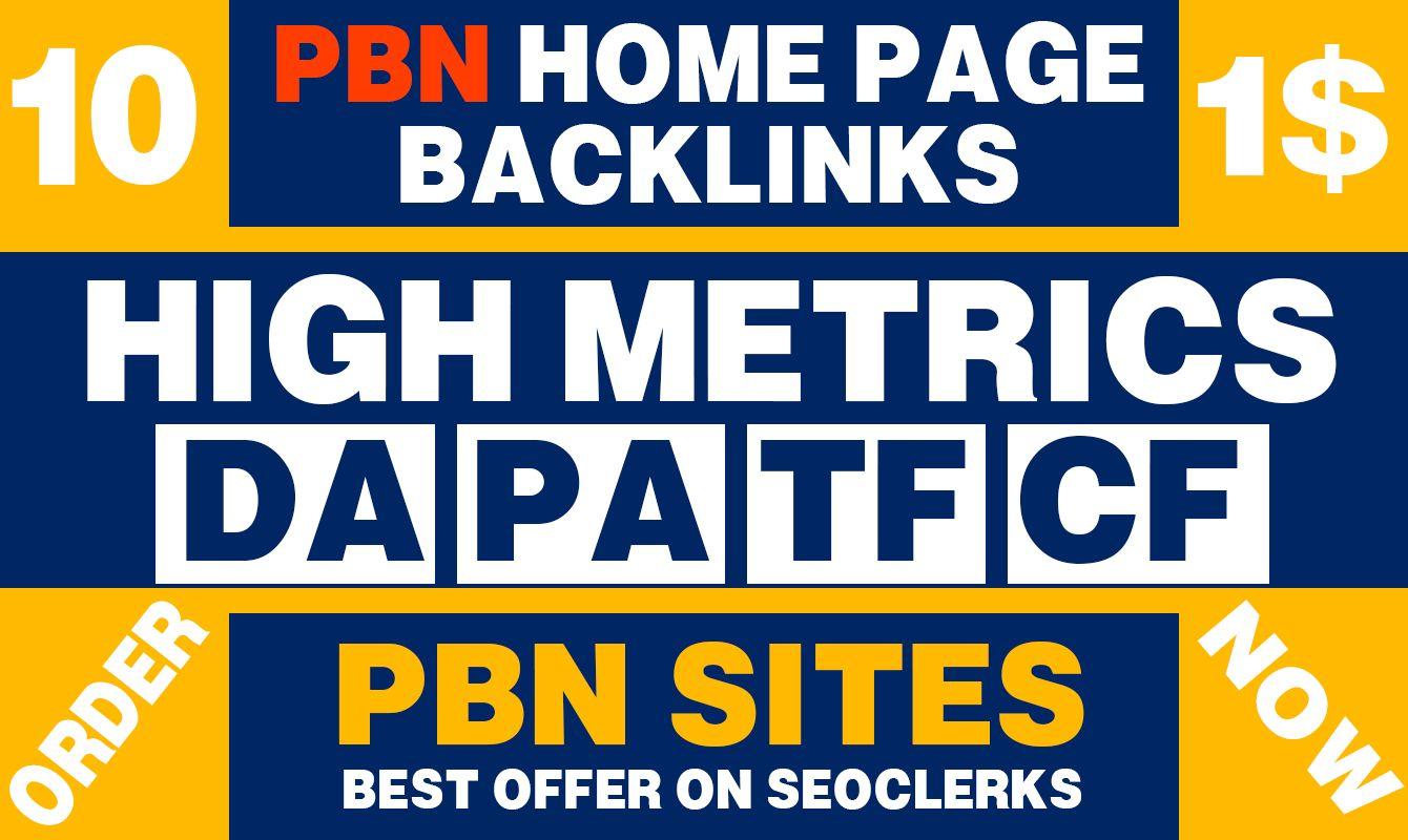 I well Get 10 Web 2.0 PBN Do follow Backlinks DA 50+ PA 40+ High Quality Backlinks