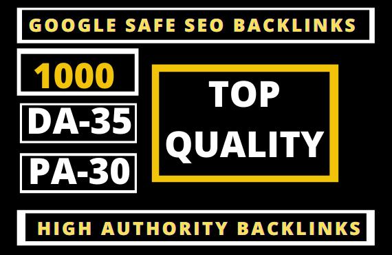 I well Get 1000 Web 2.0 PBN Dofollow Backlinks DA 50+ PA 40+ High Quality Backlinks