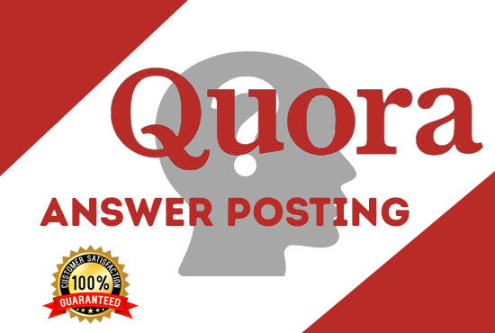 I will promote your website with 4 HQ massive Quora answers