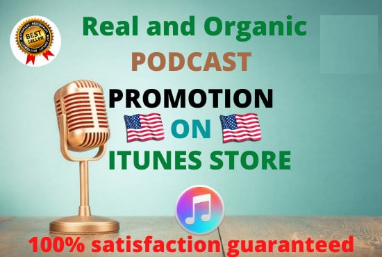 Podcast promotion to increase popularity with huge downloads and rat-ing