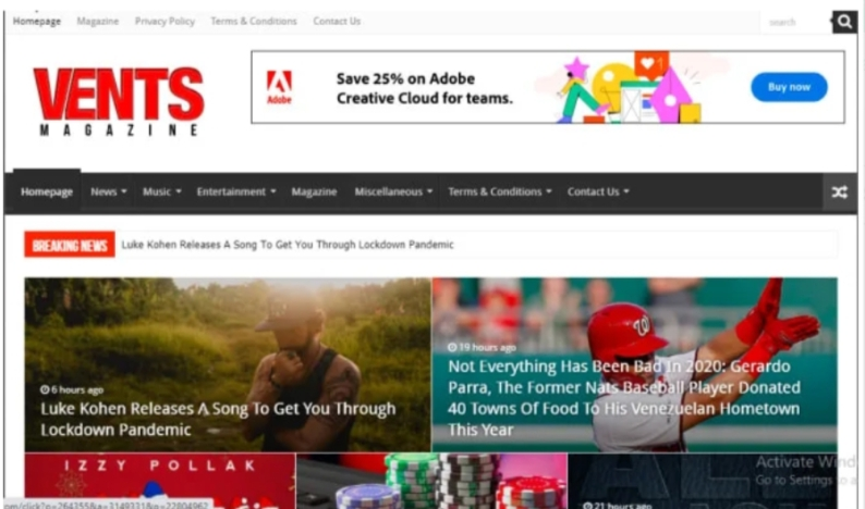 I will do guest post on ventsmagazine. com or mynewsfit. com