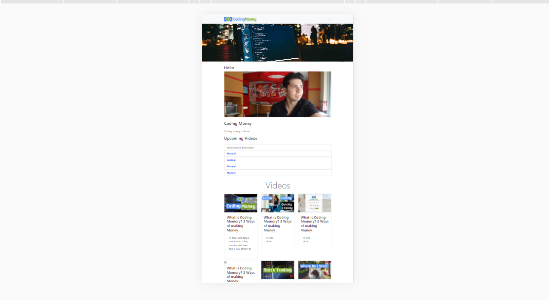 I will create Fully Responsive Website using HTML,  CSS,  Bootstrap