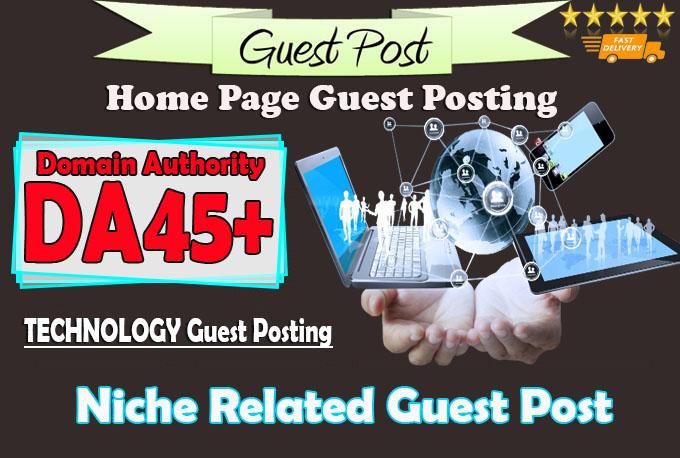 do guest post on da45 hq technology blog
