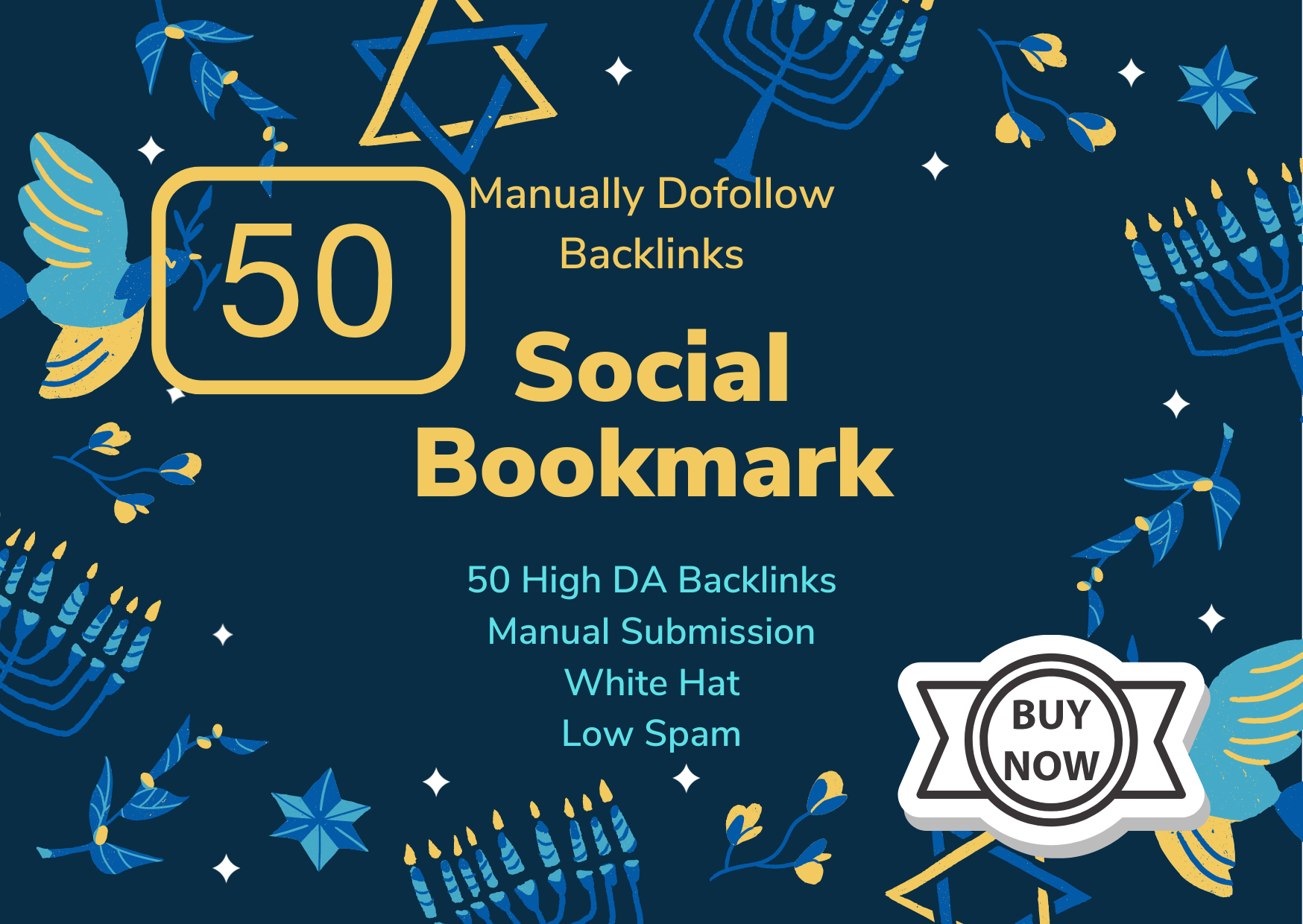 50 social bookmarking Dofollow Backlinks